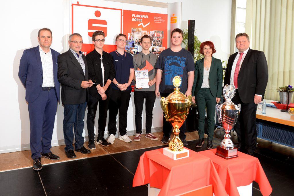 Planspiel Börse 2018 / 2019 Gesamtwettbewerb<br>1. Platz – Saarlandmeister